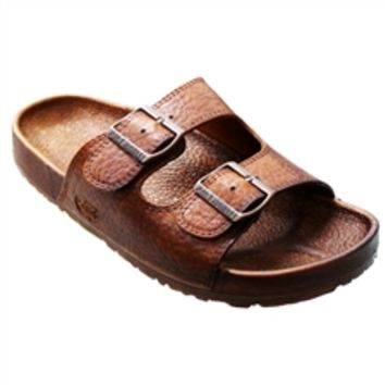 Pali Hawaii Men's PH 438 Brown Slide Sandal - ShopTheDocks.com