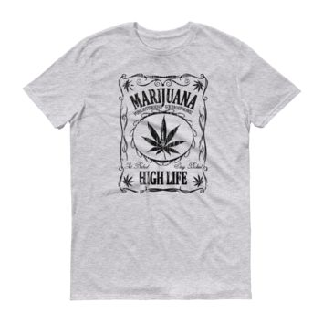 Marijuana Jack Mens Short-Sleeve T-Shirt (B)