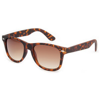 Blue Crown Rubber Classic Sunglasses Tortoise One Size For Men 21451240101