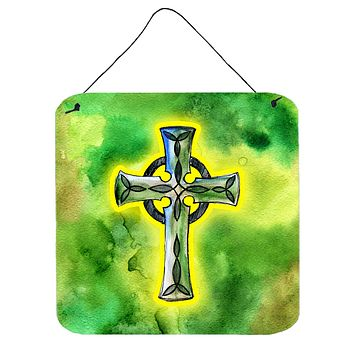 Irish Celtic Cross Wall or Door Hanging Prints