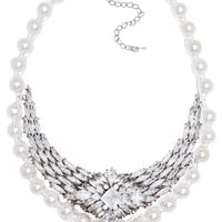 Zahlia Pearl Necklace Set
