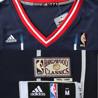 James Harden Super Rare Houston Rockets 13 Blue Black Jersey Hardwood Classic NBA Sports Basketball All Stitched and Sewn Any Size S - XXL