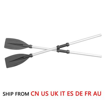 (Ship From 8 Countries) 126cm Aluminum Alloy Detachable Float Afloat Oars Boat Rafting Paddle Canoe Oar boating Accessories