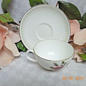 Royal Doulton, China  Dinnerware Sweetheart Rose, pattern #H4936 Cup & Saucer