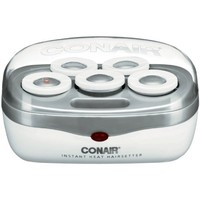 Conair Instant Heat Volume Rollers, White