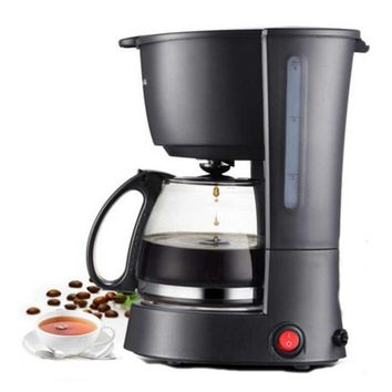 Electric Coffee Maker machine household fully-automatic drip coffee maker 600ml tea coffee pot Coffee maker Machine 220V