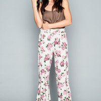 Show Me Your mumu Fiesta Flare Pants ~ Rosemary French Terry