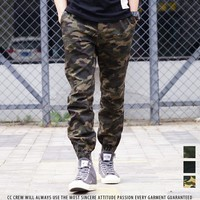 Stylish Camouflage Star Hip-hop Pants [36370874387]