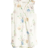 Patterned Tunic - from H&M