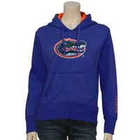 Florida Gators Ladies Royal Blue Classic Twill Pullover Hoodie Sweatshirt