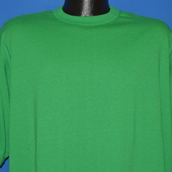 90s Blank Kelly Green t-shirt Extra Large