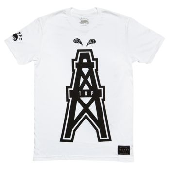Men's Oil Rig T-Shirt (White)