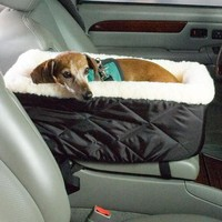 Dog Car Seat Lookout Black Small