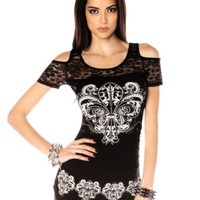 Folter Rockin' Lace Top