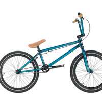 "United 2016 KL40 21"" Trans Teal Complete BMX Bike"