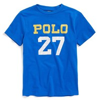 Boy's Ralph Lauren 'Polo 27' T-Shirt,