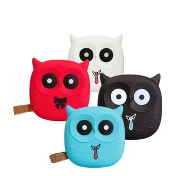 Cute Cartoon Owl Power Bank Portable Charger Battery For Iphone Mobile Cell Phone Xiaomi Small Battery Charger Powerbank