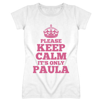 Youth Please Keep Calm It's Only Paula T-Shirt