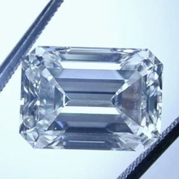 30.73ct H-VS1 Loose Diamond Emerald Cut Loose Diamond GIA certified JEWELFORME BLUE