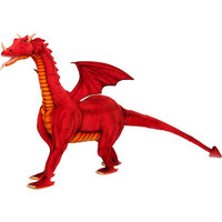 Hansa Great Dragon Ride-On - Red - Hansa Toys - Top Luxury Gifts - FAO Schwarz®