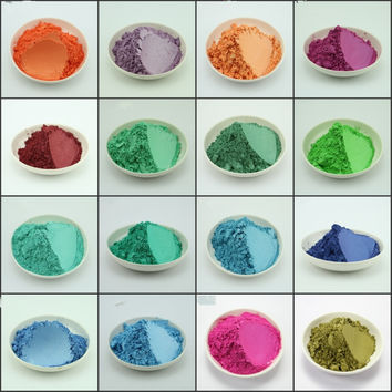 Color Pearl Powder Pigment Powder Metallic Paint Flash Powder 100G
