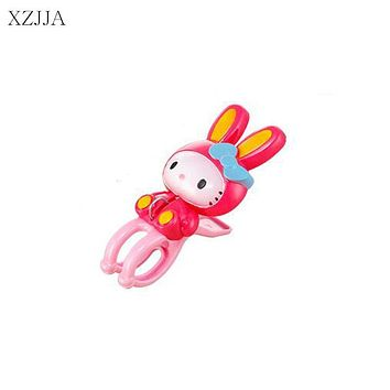 XZJJA Creative Big Clothes Pegs Animals Rabbit Laundry Hanging Clothes Pins Beach Towel Clips Quilt Clamp Household Clothespins