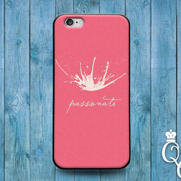 iPhone 4 4s 5 5s 5c 6 6s plus + iPod Touch 4th 5th 6th Gen Cute Pink Passionate Paint Splash Custom Cool Phone Case Girly Gift Unique Artsy