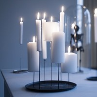 7 Pin Candle Holder