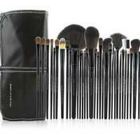 32 Nylon Make Up Brushes - Complete Set For Professionals