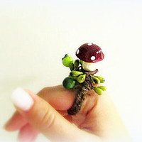 Forest Fairy Woodland Ring