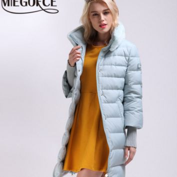 MIEGOFCE Winter Jacket Women Womens Winter Jackets and Coats Winter Coat Women Winter Jacket Female Warm Parka Parka Clothing