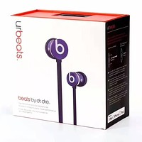 Ur Beats Fashion New Headset Women Men Listen To Sports Music And Answer The Phone Headset Purple