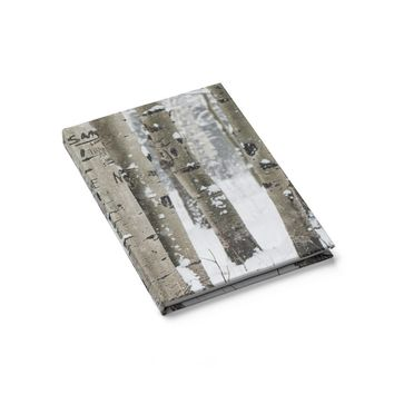 Birch Forest - 128 Page Hardcover Lined Journal