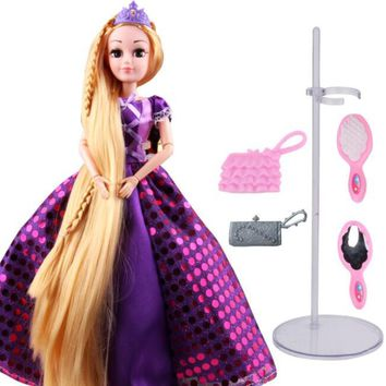 Cinderella Rapunzel Mermaid Snow White Beauty Princess rapunzel doll