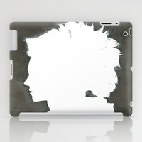 The Girl with the Dragon Tattoo iPad Case by Vartan Petrosyan