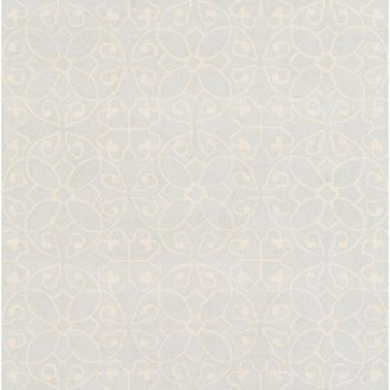 Surya Scott Medallions and Damask Gray SCT-1011 Area Rug