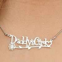 Daddy's Girl Necklace [necklace-daddysgirl] - £19.04 : The Fantasy Store, Sexy Fantasywear!