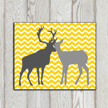 Best grey chevron decor products on wanelo for Home decor yellow and gray