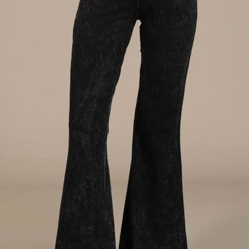 Fall Colors Mineral Wash Bell Bottoms