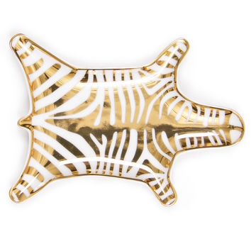 Gold Carnaby Zebra Stacking Dish