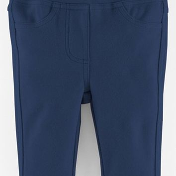 Infant Girl's Mini Boden Soft Jersey Jeans,