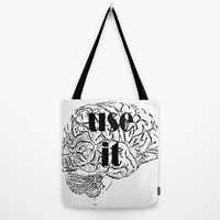 USE IT Tote Bag by Chrisb Marquez | Society6