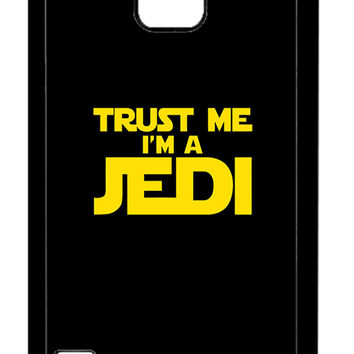 Star Wars Trust Me I am Jedi Samsung Galaxy S5 Cases - Hard Plastic, Rubber Case