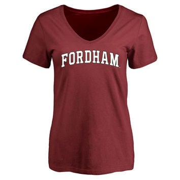 Fordham Rams Women's Everyday T-Shirt - Maroon