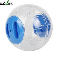 Color Cover Running Ball For Pet Home Pet Funny Transparent Running Ball Plastic Grounder Jogging Hamster Pet Small Exercise Toy