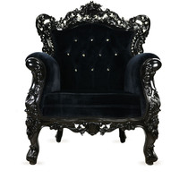 Gilt Groupe  Fabulous and Baroque Swarovski Tufted Belle de Fleur Chair