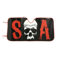 Sons Of Anarchy SOA Accordion Sunshade