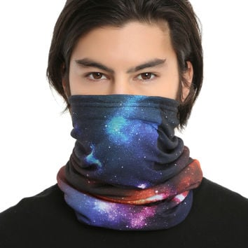 Motley Tube Galaxy Fleece Scarf
