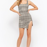 Glen Plaid Bodycon Dress