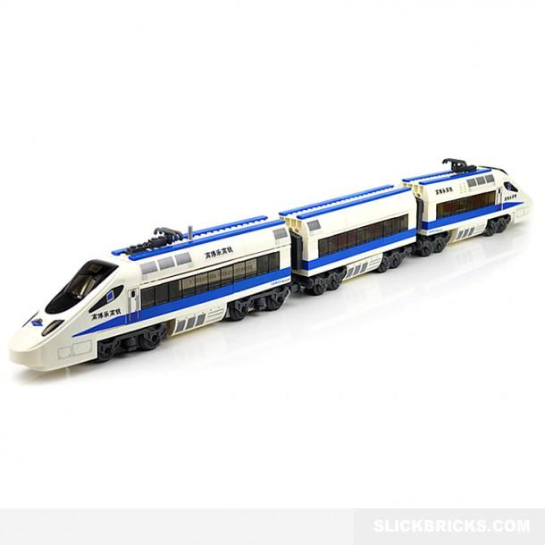 Electric Bullet Train - Lego Compatible from Slick Bricks ...